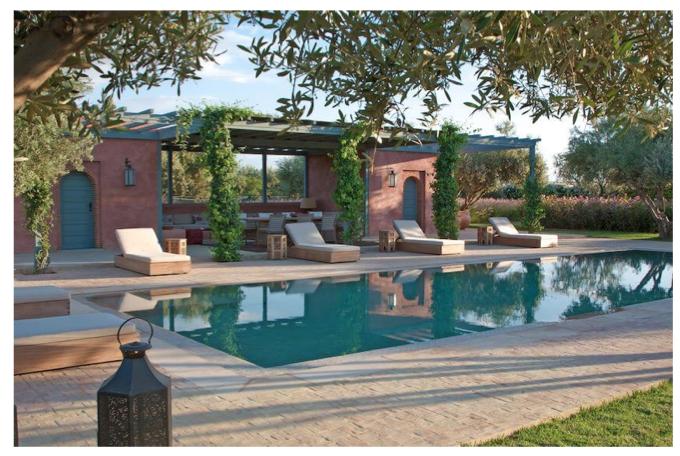 propriété de luxe à marrakech