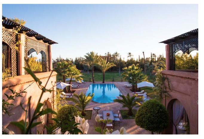 villa de luxe à marrakech